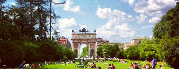Parco Sempione is one of GAY GUIDE MILAN.