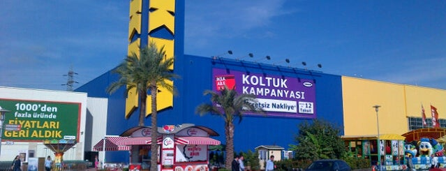 IKEA is one of Locais curtidos por Serhat.