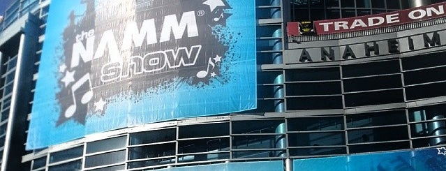 The NAMM Show is one of สถานที่ที่บันทึกไว้ของ Jose.