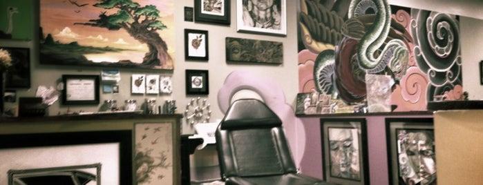 Fu's Custom Tattoos is one of Charlotte Arts.
