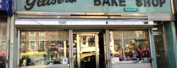 Glaser's Bake Shop is one of Sweet New York Times.