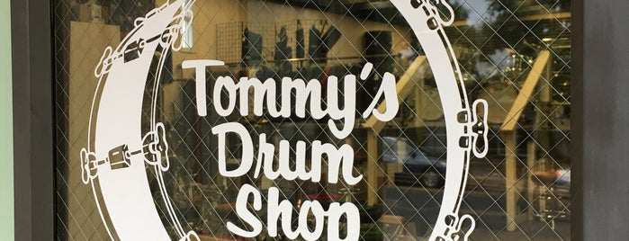 Tommy's Drum Shop is one of Austin.