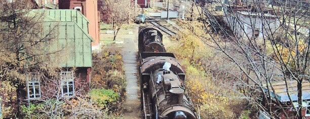 Krasny Baltiyets Railway Station is one of Locais curtidos por Ilya.