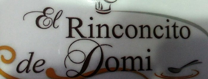 El Rinconcito de Domi is one of Lugares favoritos de Vicente.