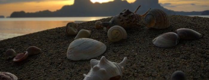 El Nido Cove Resort and Spa is one of Orte, die Szymon gefallen.