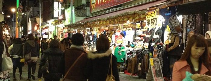 Harajuku Street is one of Tokyo.