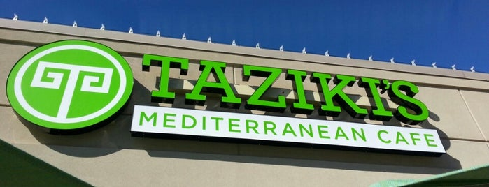 Taziki's Mediterranean Cafe is one of Atlanta.