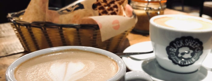 Black Sheep Coffee is one of Manchester Cafe Crawl.