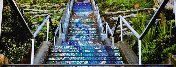 Golden Gate Heights Mosaic Stairway is one of San Francisco, CA Spots.