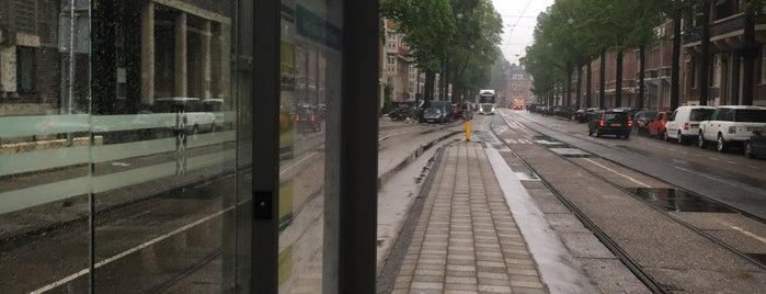 Tramhalte Lijn 16 Valeriusplein is one of Alle tramhaltes van Amsterdam.