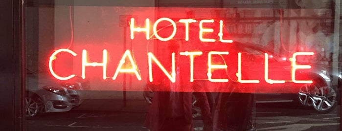 Hotel Chantelle is one of New London Openings 2015.