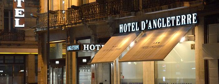 Hotel d'Angleterre Grenoble is one of Tempat yang Disukai Veronika.