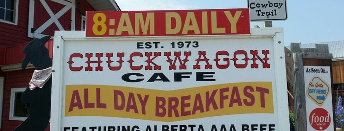 Chuckwagon Cafe is one of You Gotta Eat Here!.