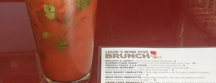 Louie's Wine Dive is one of MSP.