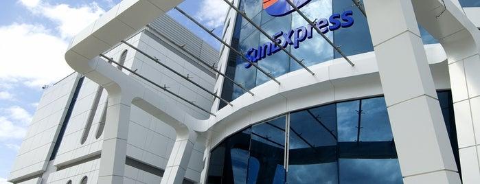 SunExpress Plaza is one of Orte, die TC Erdal gefallen.