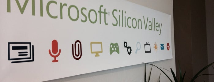 Microsoft Sunnyvale is one of SILICON VALLEY.