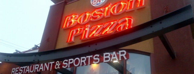 Boston Pizza is one of Aaron's Saved Places.