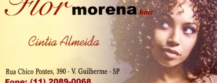 Flor Morena Hair is one of Andreaさんのお気に入りスポット.