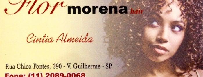 Flor Morena Hair is one of สถานที่ที่ Andrea ถูกใจ.