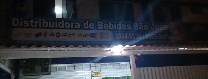 São José Distribuidora de Bebidas is one of Orte, die Vinicius gefallen.