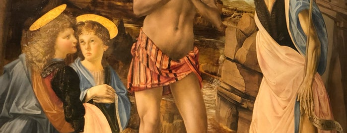 Leonardo - Galleria Degli Uffizi is one of Tempat yang Disukai Richard.