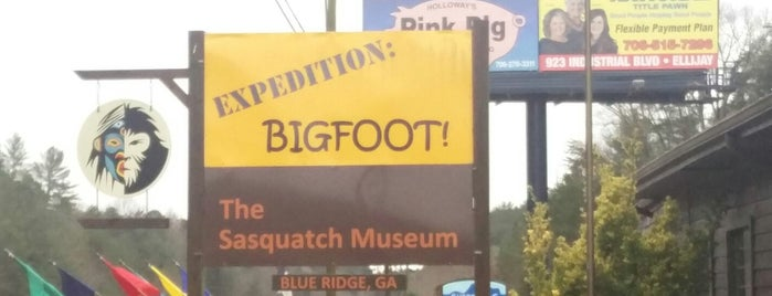 The Sasquatch Museum is one of Locais salvos de Katie.