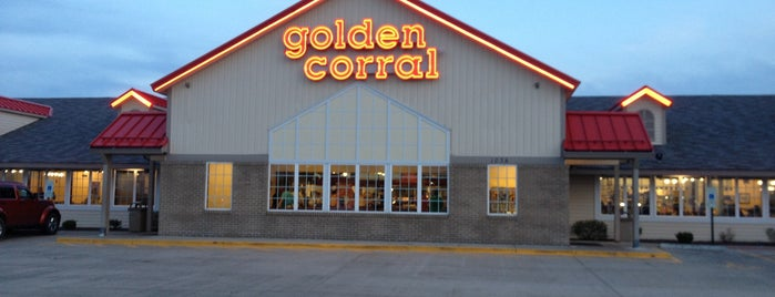 Golden Corral is one of Chrissy's Liked Places.