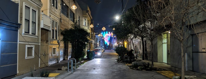 Linden Alley is one of San Francisco.