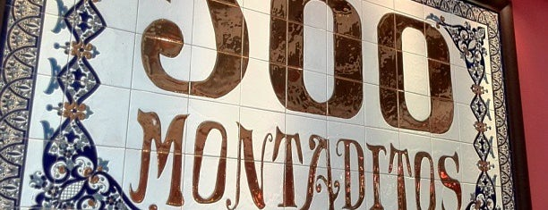 100 Montaditos is one of Miami.