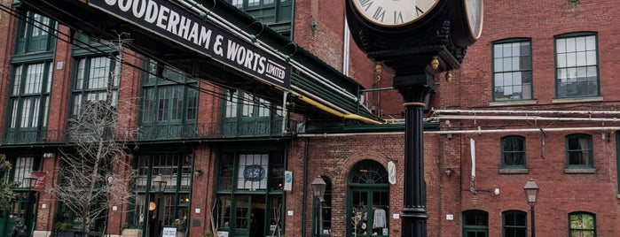 The Distillery Historic District is one of Toronto, ON.