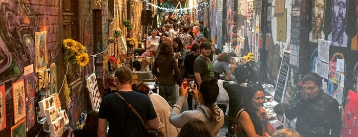 Blender Lane Artists Market is one of Snarkle's Ace Bits of Melbourne.