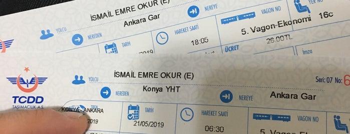 Konya Yht Gar is one of Locais curtidos por Fatih.