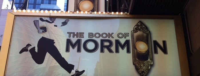 Book of Mormon Lottery is one of NYC.