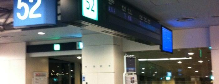 Gate 52 is one of 羽田空港 第2ターミナル 搭乗口 HND terminal2 gate.