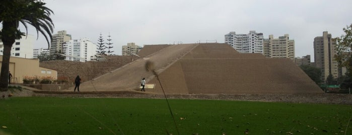 Huaca Huallamarca is one of Museos.