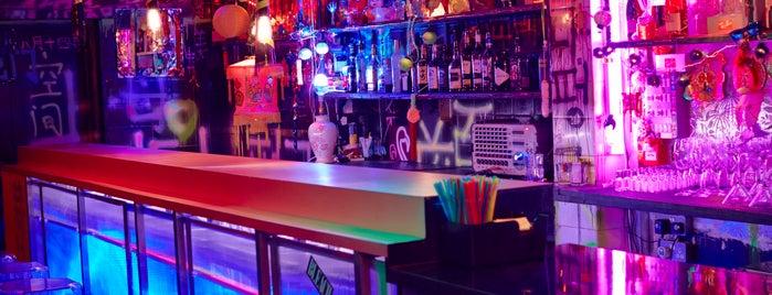 BLEACH bar is one of Hackney, London.