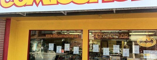 The Comic Shop is one of Vancouver.