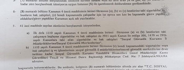 İzmir Sosyal Güvenlik İl Müdürlüğü is one of hamza'nın Beğendiği Mekanlar.