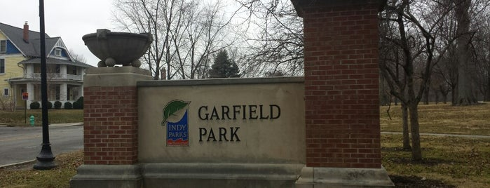Garfield Park is one of indy.