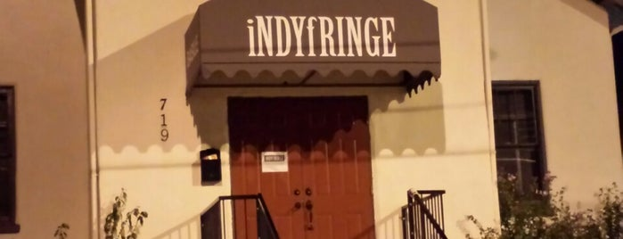 IndyFringe Theatre Building is one of Places to DoItIndy.
