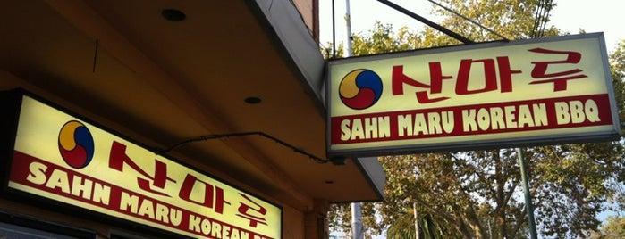 Sahn Maru Korean BBQ is one of Frank : понравившиеся места.