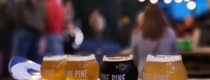 Lone Pine Brewing is one of Maine.