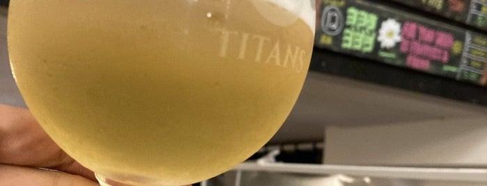 Titans Craft Beer Bar & Bottle Shop is one of Lugares favoritos de SV.