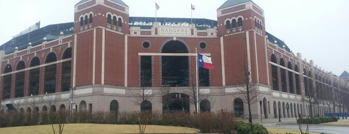 Globe Life Park in Arlington is one of 67 Things to do in Dallas Before You Die or Move.