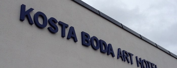 Kosta Boda Art Hotel is one of Monika's Saved Places.