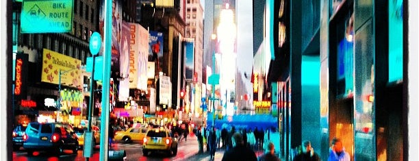 Times Square is one of Manhattan Favorites.