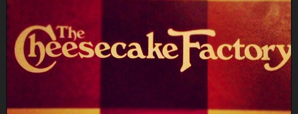 The Cheesecake Factory is one of Dessert Please! Dallas Edition.