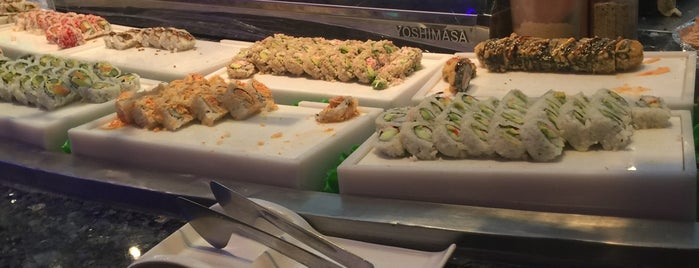 Miyako Sushi Buffet is one of Locais curtidos por M.
