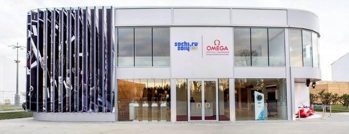 OMEGA Pavilion Sochi 2014 / Павильон OMEGA Сочи 2014 is one of Dima'nın Beğendiği Mekanlar.