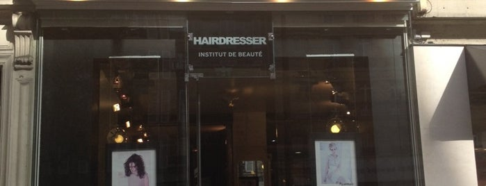 Hairdresser is one of Sports & Fashion, I.